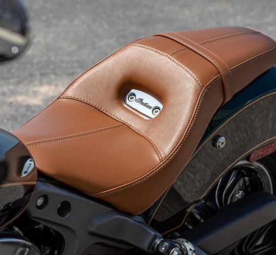Genuine Leather Seat